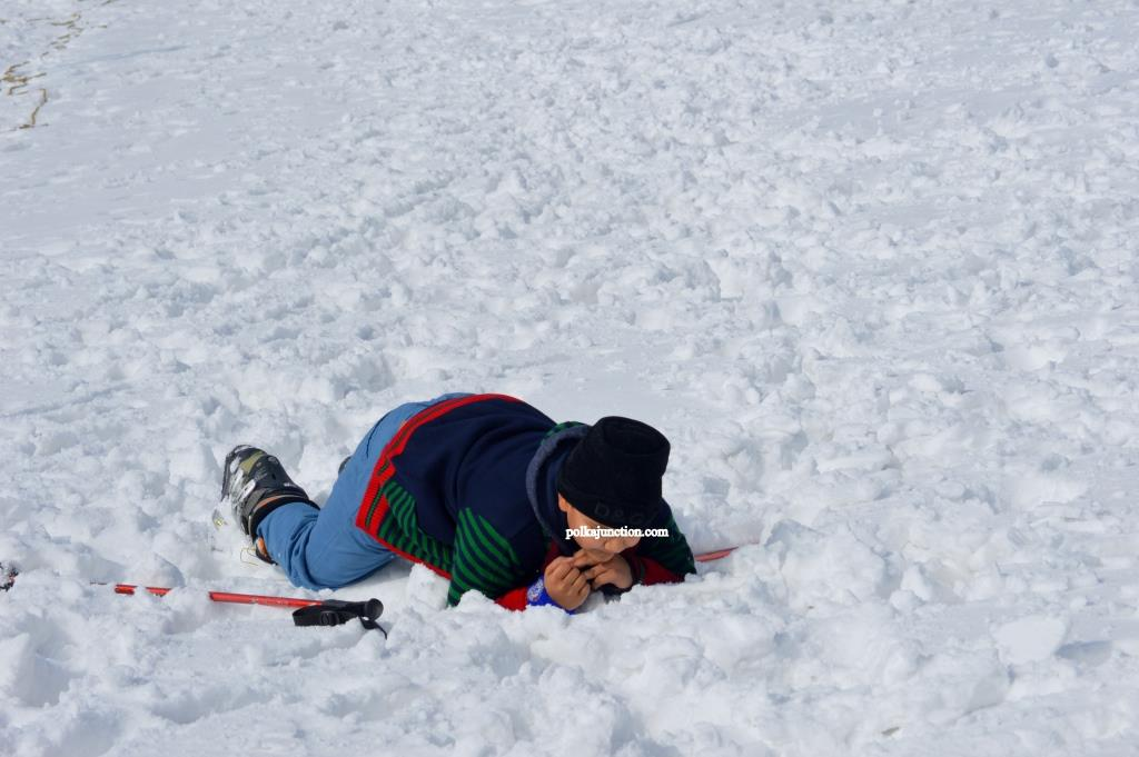 Dainkund Dalhousie Snowfall