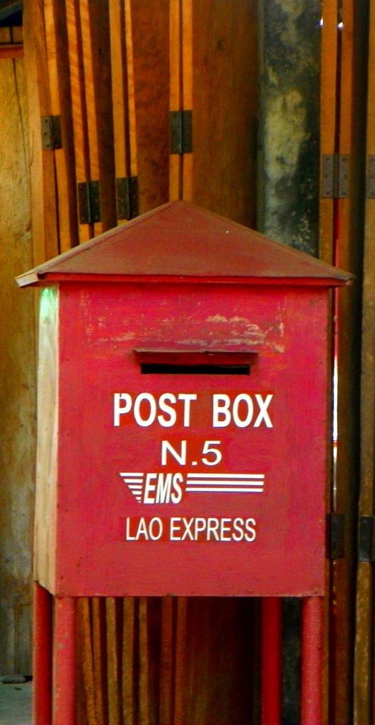 Post Box in Laos