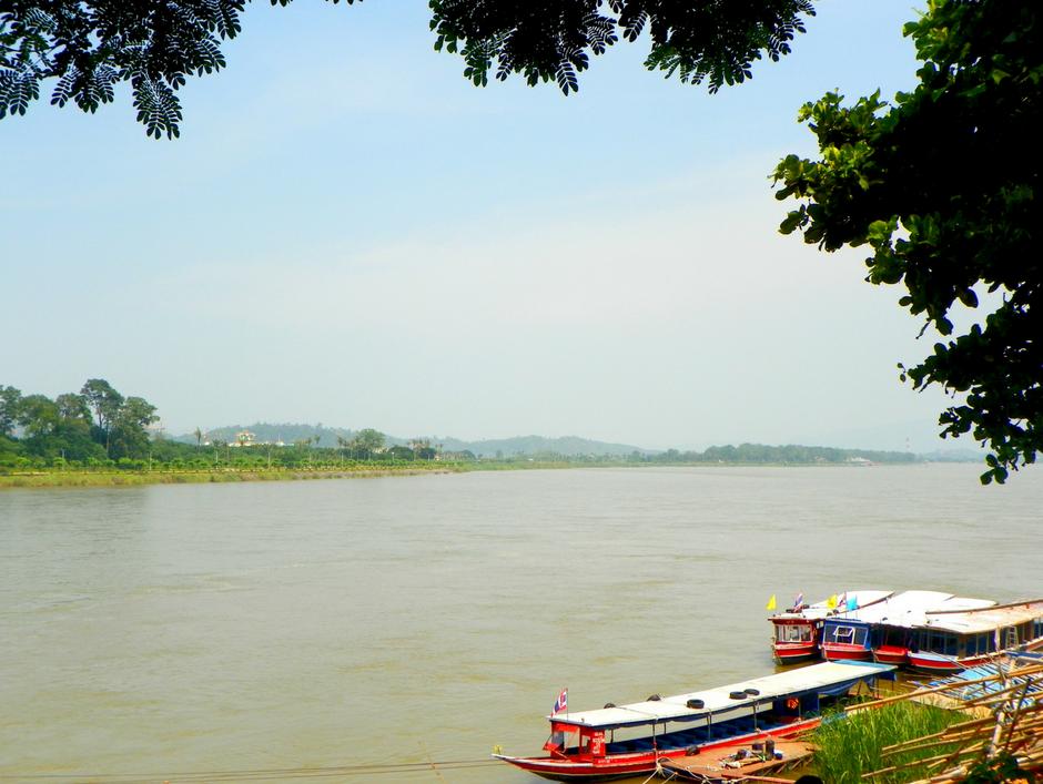 The majestic Mekong river