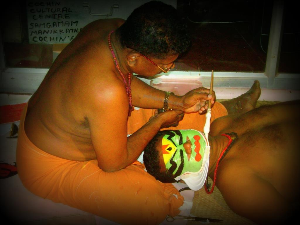 Kathakali-dance-chutti