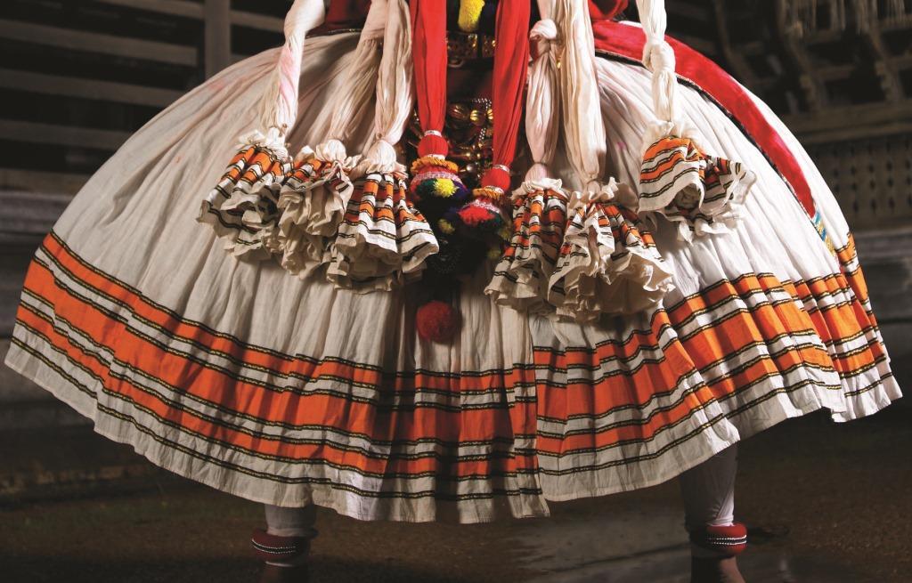 Kathakali costume polkajunction