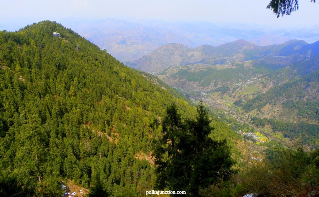 Chamba Valley as seen from Bakrota