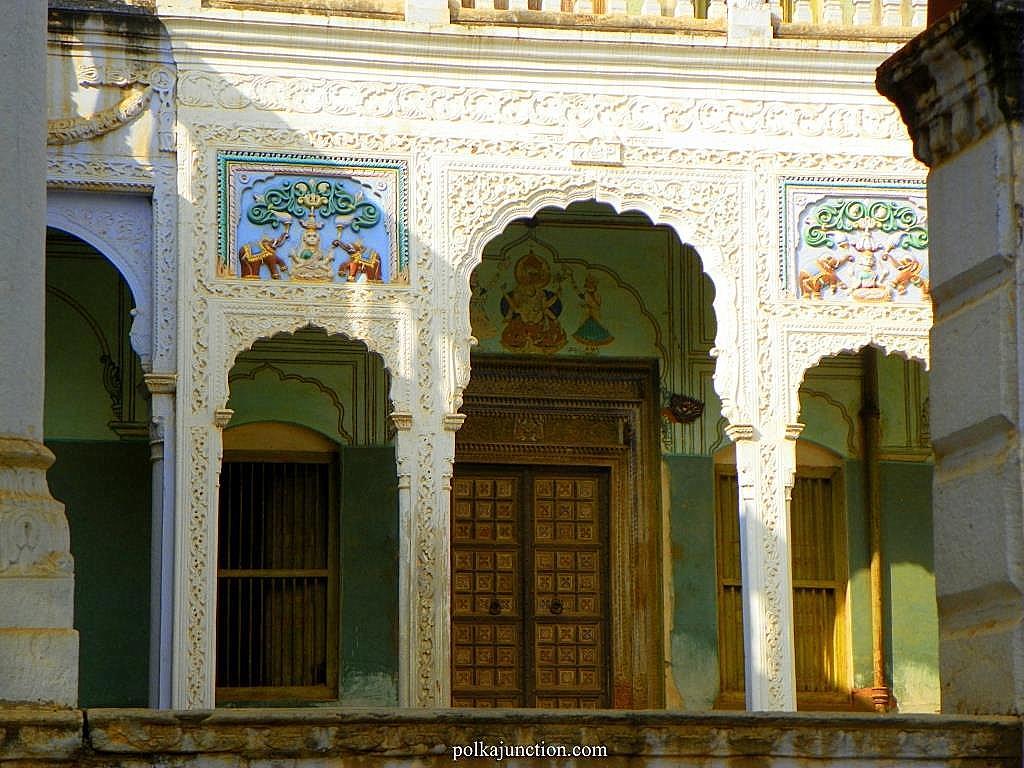 haveis door Shekhawati kajra