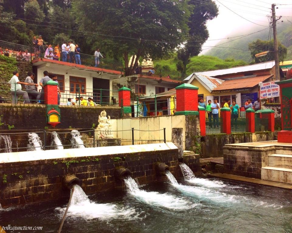 Bhagsu Nag water springs