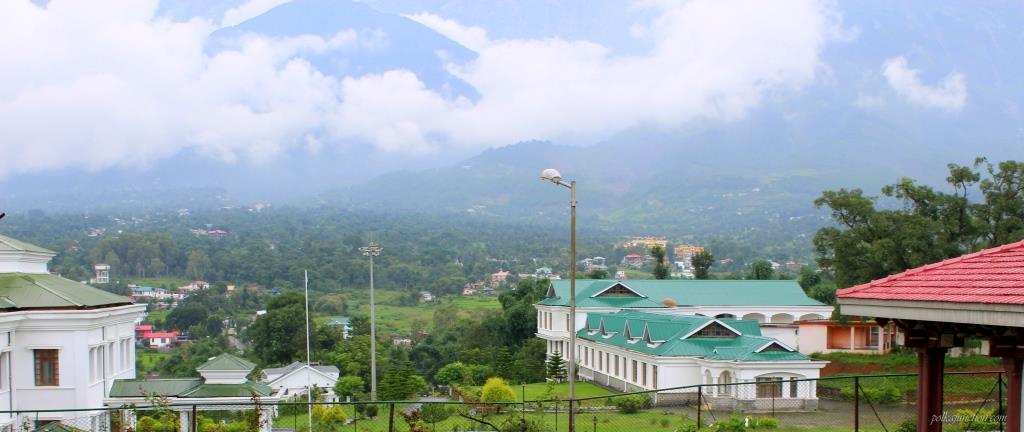 A view of Dhauladhars from Sidhbari