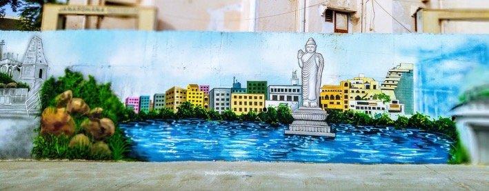 Finding Street Art in Secunderabad