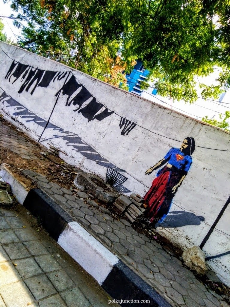 Finding Street Art in Hyderabad