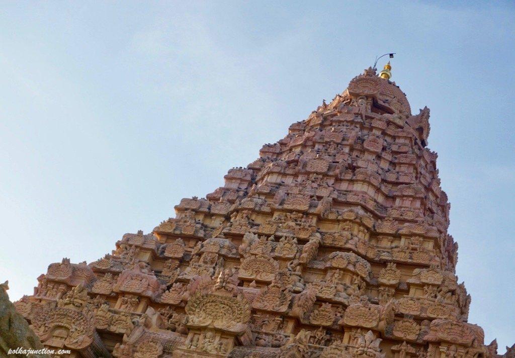 vimana at Brihadeeswarar temple