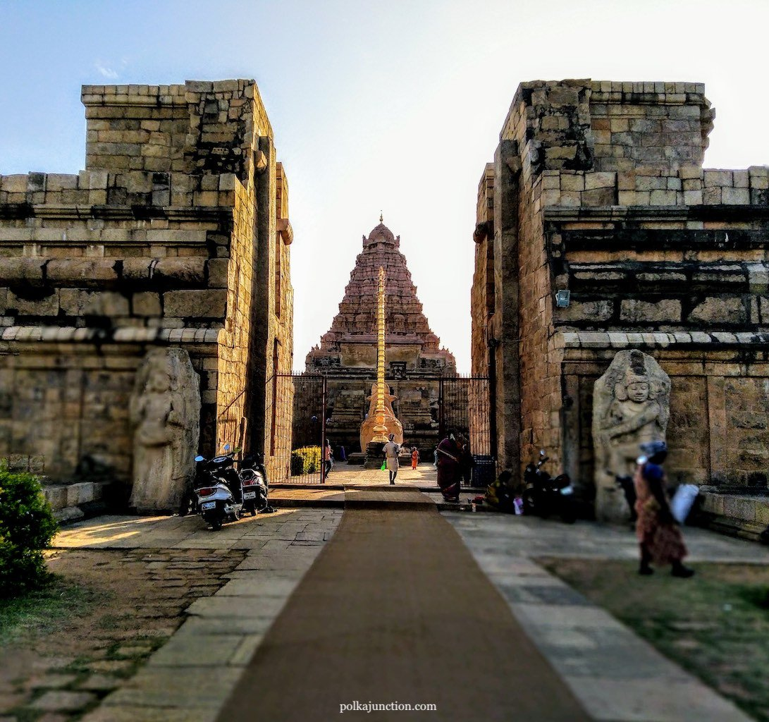 UNESCO Heritage Site of Gangaikondacholapuram