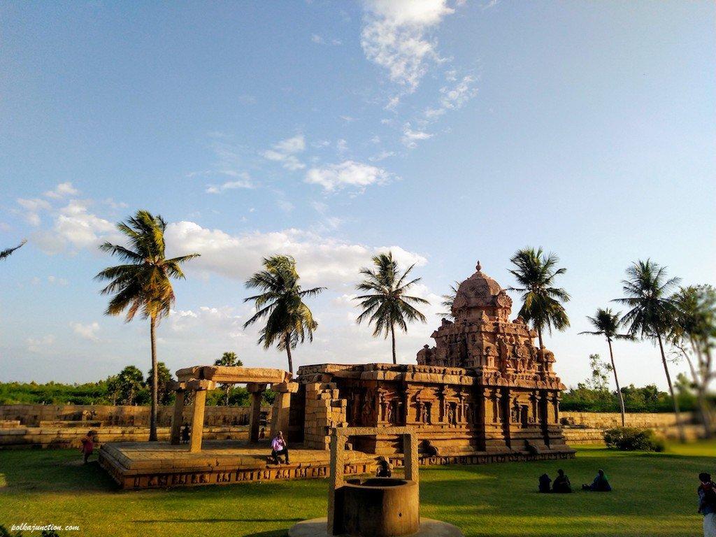 UNESCO Heritage Site of Gangaikondacholapuram temple