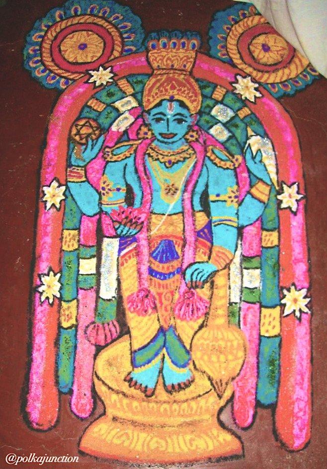 Rangoli navratri golu designs
