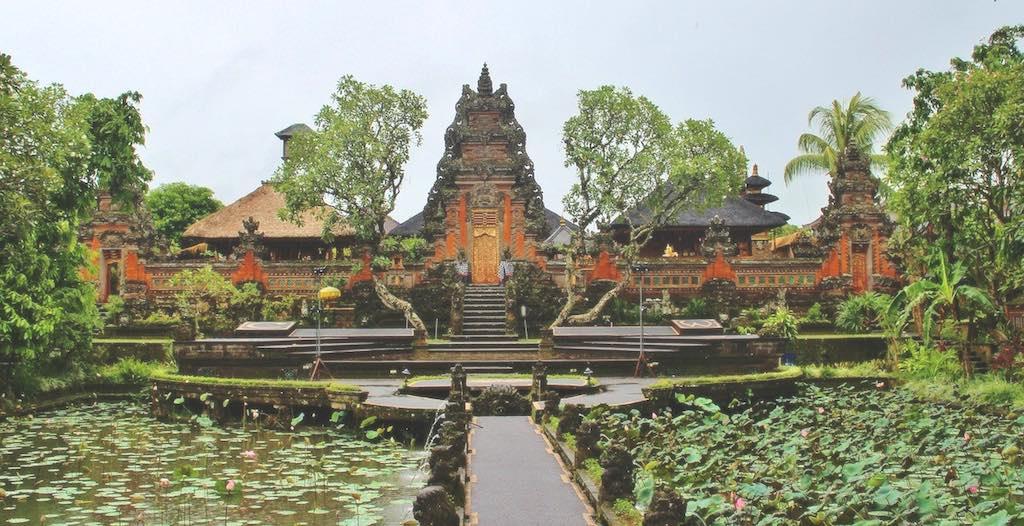 Saraswati temple Bali