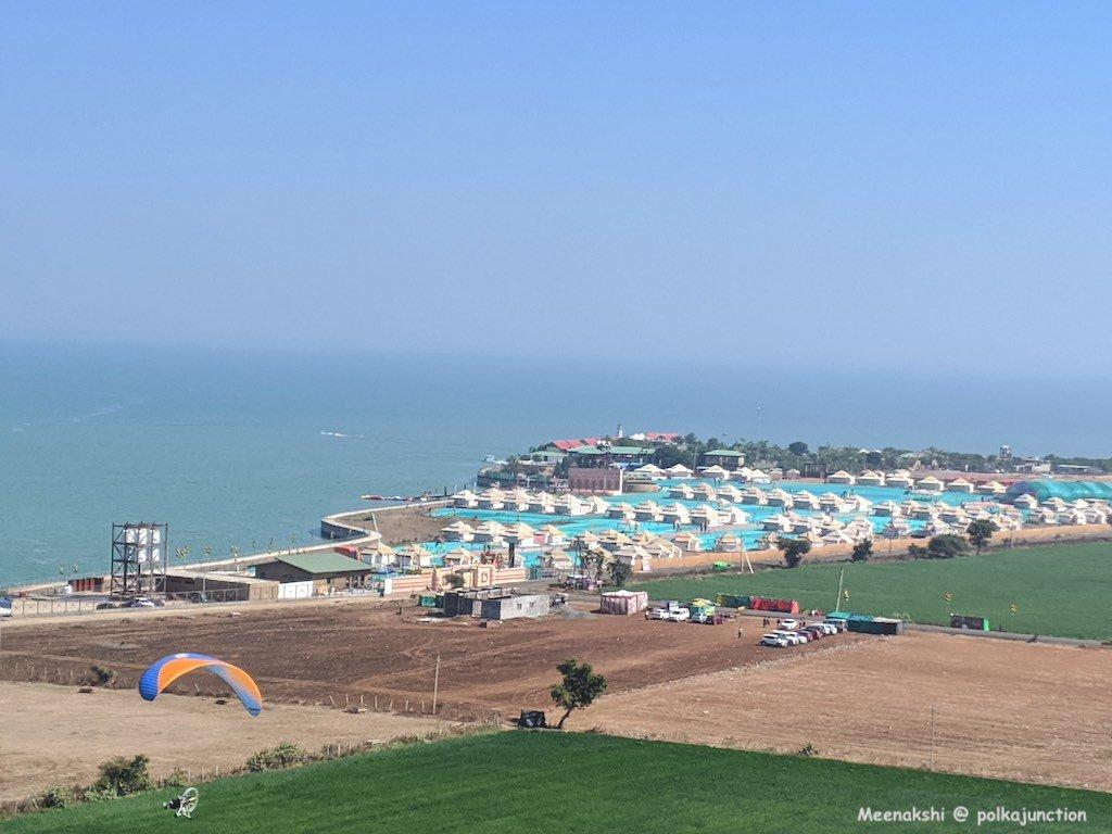 Aerial-view-Hanuwantiya-madhya-pradesh