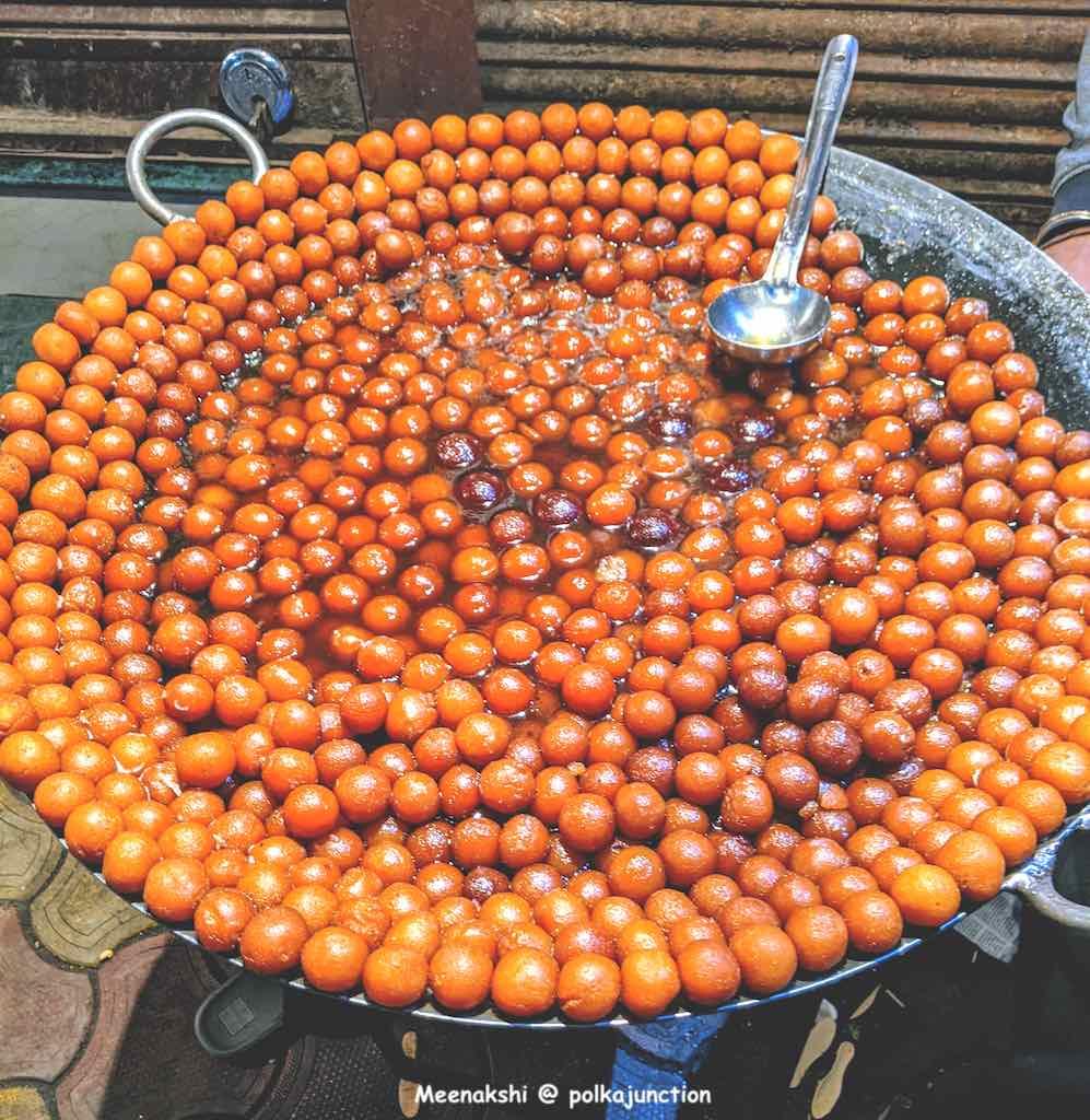 Gulab Jamun at Indore
