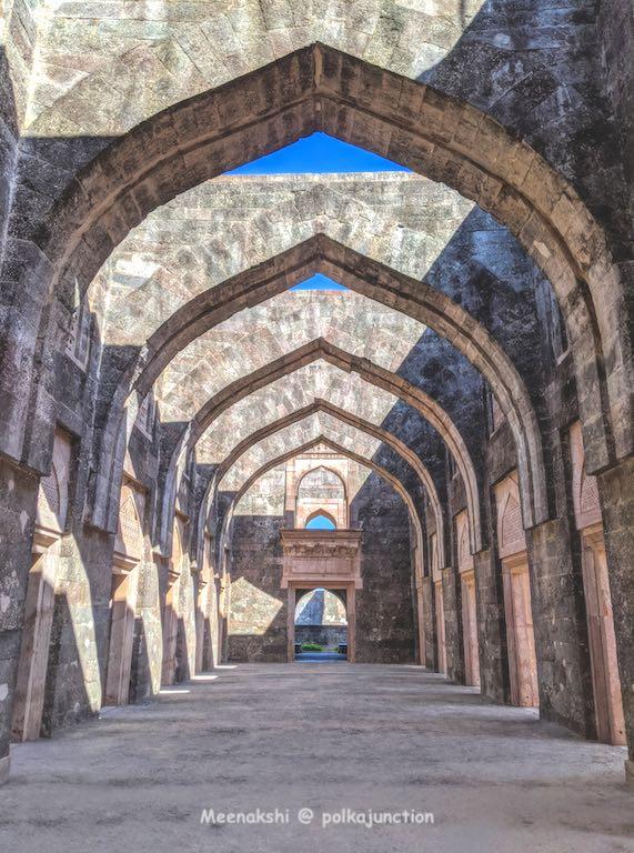 Hindola Mahala at Mandu