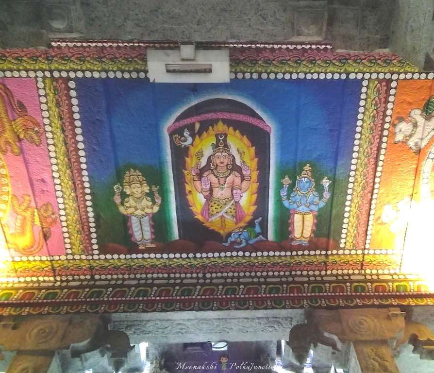 Pillayarpatti-karpaga-vinayagar-temple-ceiling